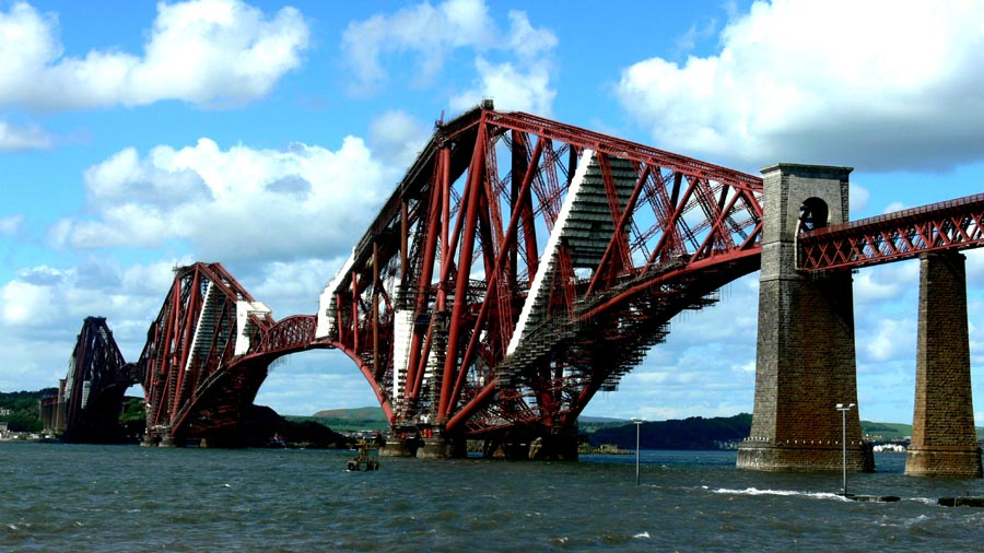 The Forth Bridge, Edinburgh