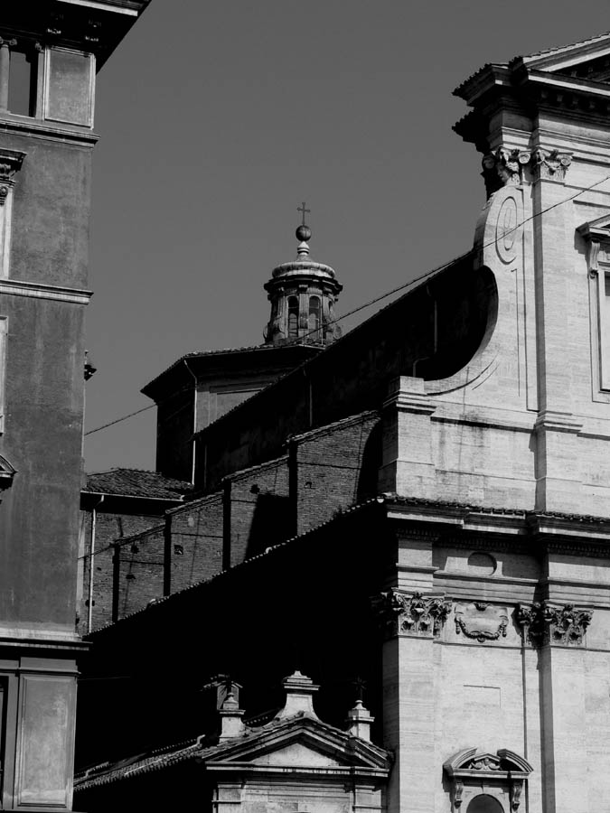 Buildings along the Via dei Conciliazione, Rome