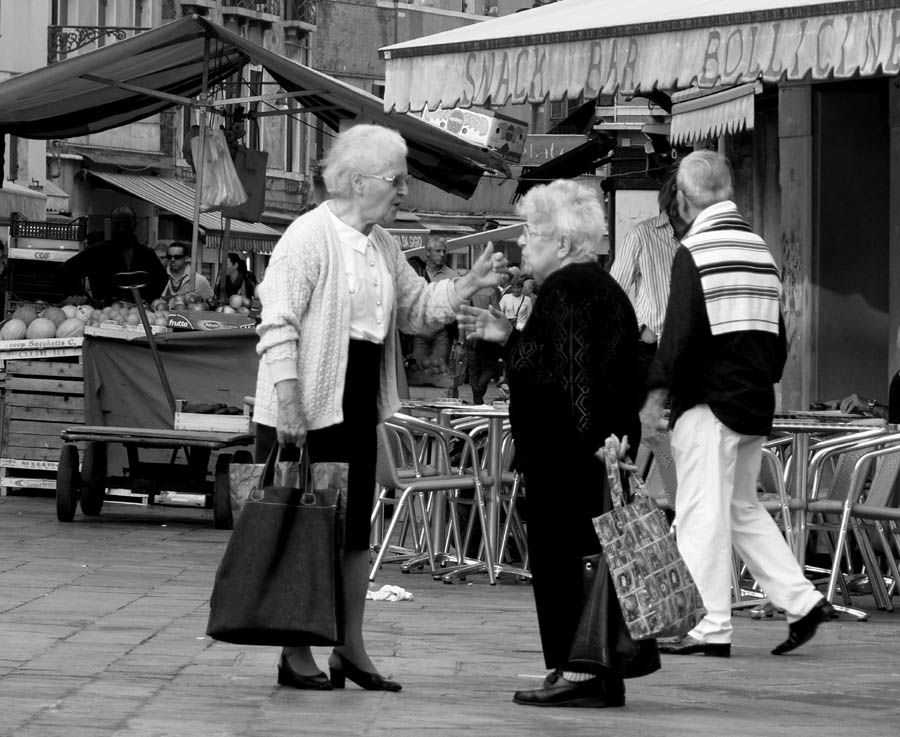 Two Old Venice Ladies