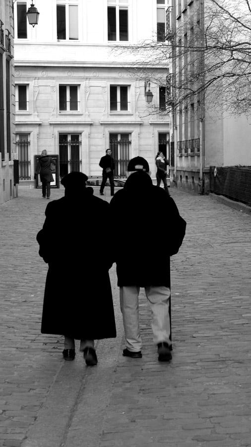 Old Couple, Paris